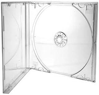 CD/DVD Jewel 10,4 mm casos para 1 disco), con bandeja de ...