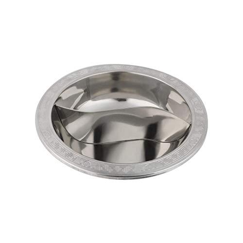 SMEJS Strato di 28 Centimetri in Acciaio Inox Hot Pot...