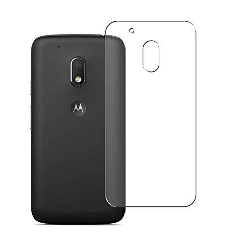 Vaxson 2 Unidades Protector de pantalla Posterior, compatible con Motorola Moto G4 Play XT1607 [No Vidrio Templado] TPU Película Protectora Espalda Skin Cover