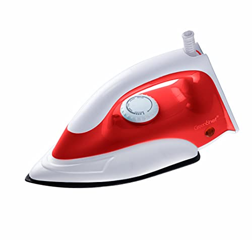 Greenchef D-207 Dry Iron Box (Red)
