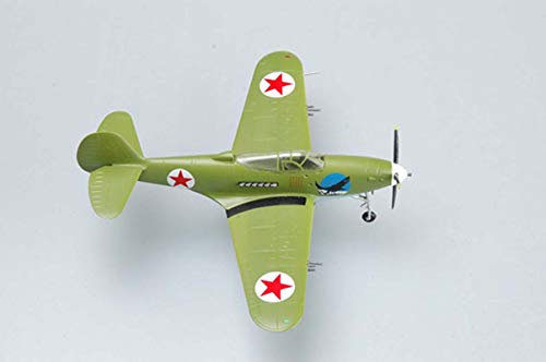 Price comparison product image Easy Model WW2 Bell P-39N Airacobra Soviet Ace V.F. Sirotin 1 / 72 Non diecast Plane