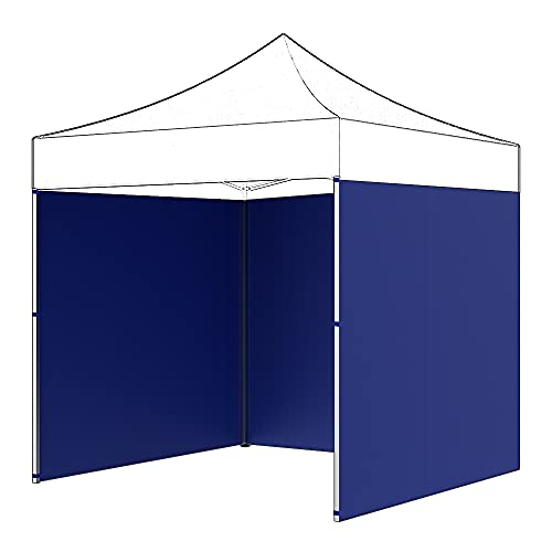 Tienda de campaña plegable, paneles laterales a prueba del sol, cortinas para tienda de campaña exterior antirrayos ultravioleta, reducen las molestias y los daños causados por el sol (azul 6 m).