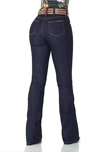 Calça Jeans Feminina Fast Bull CF Lycra Flare Super
