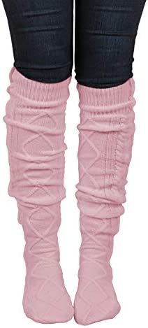 Floral Find Women s Cable Knit Knee High Winter Boot Socks Extra Long Thigh Leg Warmers Stocking product image