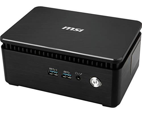 PC de Escritorio MSI Cubi 3Silent S -031X EU i3–7100u//128G/HD Graph/Dos/Negro