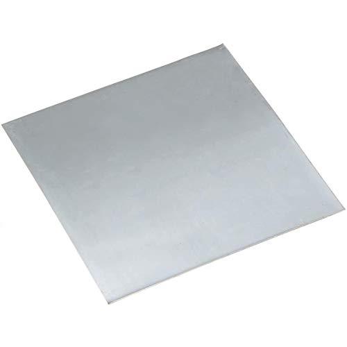 LOKIH Pure Zinc Zn Hoja De Plancha Resistente La Hoja De Metal for La Ciencia Longitud De 160 mm Ancho 100mm,1.5mmx160mmx100mm