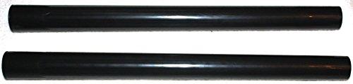 daniplus Staubsauger Rohr Kunststoff Ø 35mm,2 Stück zu 54cm Schwarz