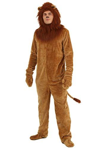 Men's Lion Onesie Animal Costume