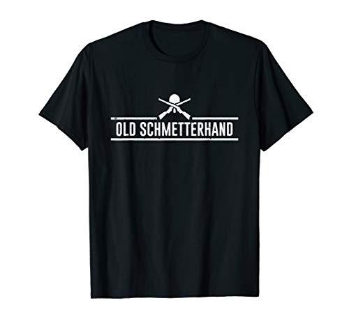 Herren Old Schmetterhand Tischtennis Rentner T-Shirt T-Shirt
