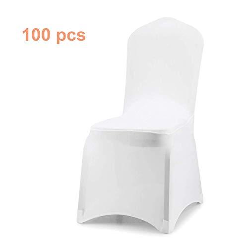 Wolketon - Funda para silla universal, elástica, moderna, para bodas y celebraciones