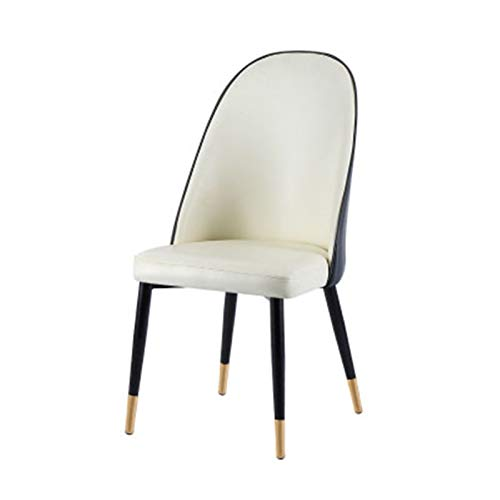 SHUILV Silla Respaldo nórdico sillón hogar Moderno Minimalista Silla de Escritorio Silla Restaurante luz de Mesa de Comedor (Colores múltiples Disponibles) (Color : G)