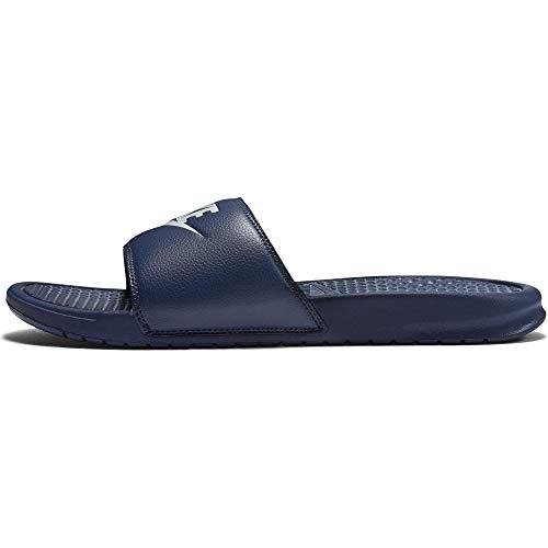 Nike Unisex-Erwachsene Benassi Jdi Dusch-& Badeschuhe, Blau (Midnight Navy/Windchill), 44 EU