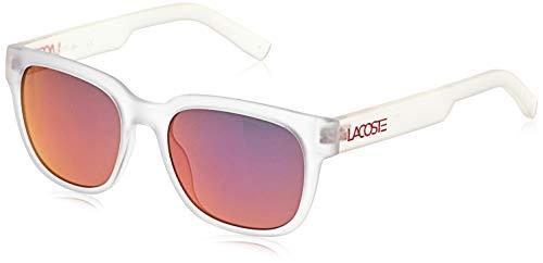 Lacoste Sonnenbrille L830S Gafas de sol, Blanco (Weiß), 53.0 Unisex Adulto