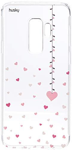 Capa Personalizada para Galaxy S9 Plus - Coração Mobile, Husky, Proteção Completa (Carcaça+Tela), Colorido