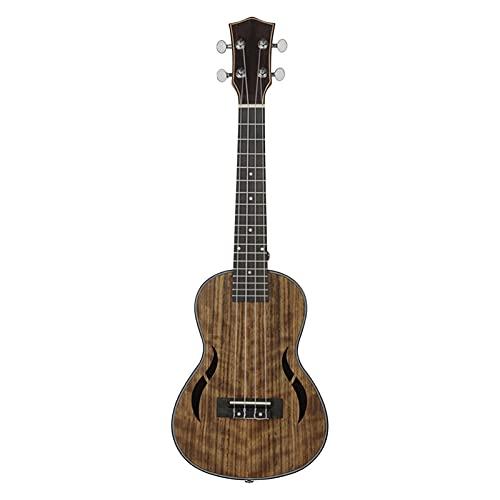 26 pulgadas acústica tenor ukelele ukelele uke walnut madera cuerdas de nylon de madera tipo tuning tuning colgs instrumento de picadura (Size : 26 inches)