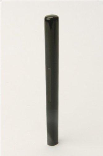【訂正印】黒水牛(芯持)・小判6.0mm