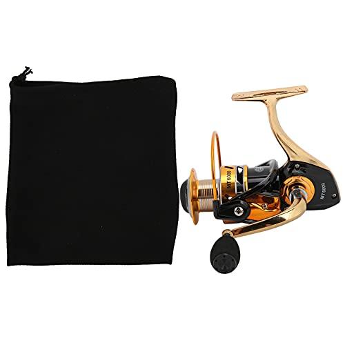 minifinker Carrete Giratorio, Aspecto Hermoso Carrete de Pesca de Cuerpo ultradelgado Rodamiento de Alta Velocidad para capturar Peces Grandes