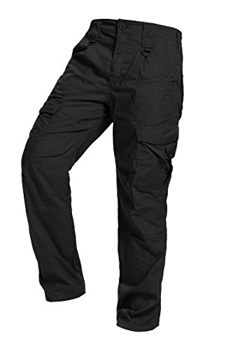 AKARMY Men's Ripstop Tactical Pants, Lightweight EDC Hiking...