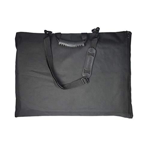 SUPVOX Portafoglio Zaino Arte Impermeabile Valigetta con Maniglia per Tavole da Disegno A3
