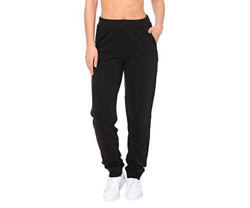 Puma Ess Sweat Tr, Pantaloni sportivi da Donna, Nero Cotone, M