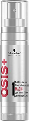 Schwarzkopf OSiS Magic Finish Anti-Frizz Glanz-Serum, 1er Pack, (1x 50 ml)