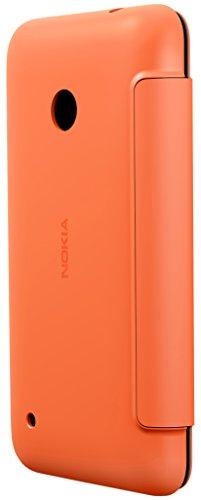 Nokia (CC-3087) Flip Shell Clip-On Case Cover for Nokia Lumia 530 - Dark Orange