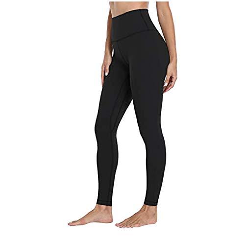 Luotuo Yoga Leggings Damen High Waist, Leopard/Tarnung/Einfarbig Strecken Lange Hose Blickdicht Schnelltrocknend Sport Fitness Yogahose Slim Fit Sporthose
