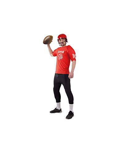 DISBACANAL Disfraz Rugby Adulto - Único, XL