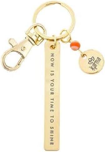 Karma Gifts Karma Minimalist Key Chain (KA3601COR), Shine
