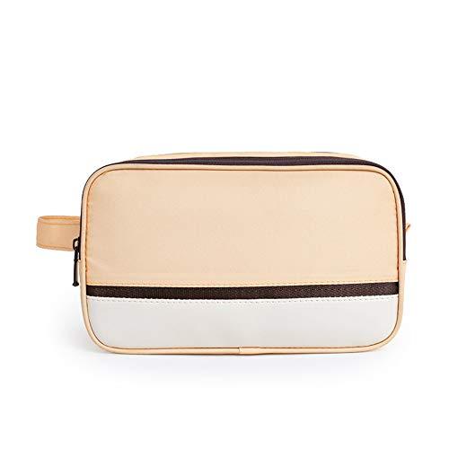 donfhfey827 Make-up-Tasche Handfarbe Kontrast Waschbeutel trockene und nasse Trennung Reiseaufbewahrungstasche