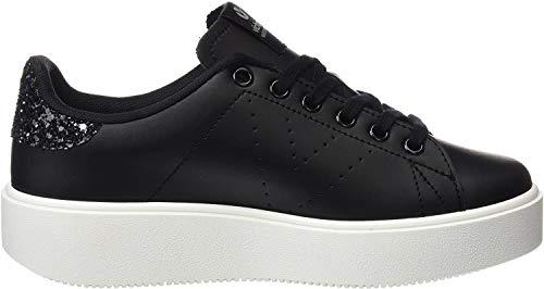 victoria Męskie buty sportowe Deportivo Piel-1260100, czarny - czarny Negro - 42 EU