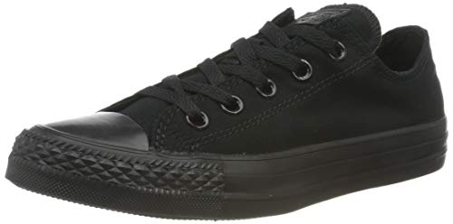 Converse Unisex Low TOP Black Size 7.5 M US Women / 5.5 M US Men