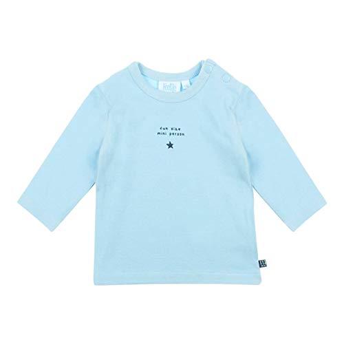 Feetje T-shirt à manches longues Mini Person top bébé vêtements bébé, bleu ciel