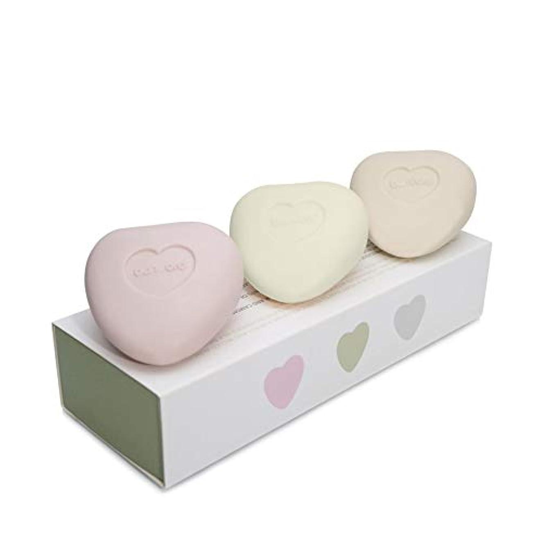 恐れるシソーラス第五[Bamford ] バンフォードミニ小石の心ソープセット - Bamford Mini Pebble Heart Soap Set [並行輸入品]