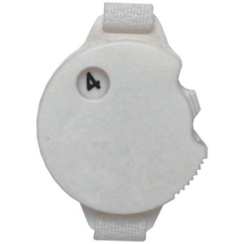 Daft Golfer Golf Stroke Counter with Glove Fastener Strap (4-Pack)