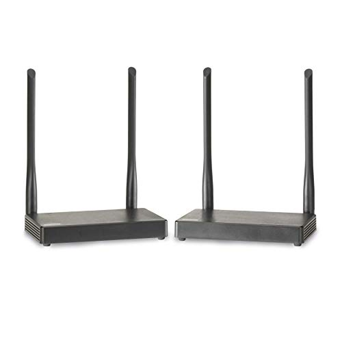 Drathlose HDMI Extender - Marmitek TV Anywhere Wireless HD - 1080p Full HD - flächendeckendes Bereich - Sehen Sie sich Ihr Bild über die kostenlose App an - Infrarot Rückgabefunktion - KVM