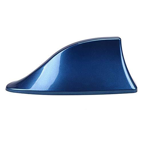 Cubierta de Antena de Aleta de Tiburones para Alfa para Alfa Remeo para Renault, Radio automático Aéreas Vehículos FM Funda de señal Funda aérea para KIA Fácil de Instalar 2.18 (Color : Blue)