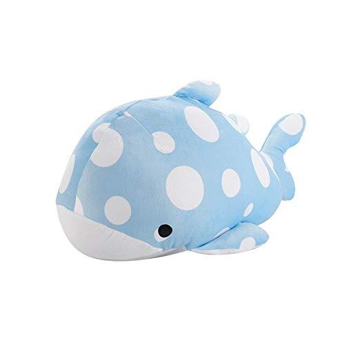 N / A Lucky Boy Sunday 55CM Sea Animals Peluche Soft Shark Whale Dolphin Stuffefd Plush Pillow Doll Niños Niños Juguetes Regalo de cumpleaños 55cm