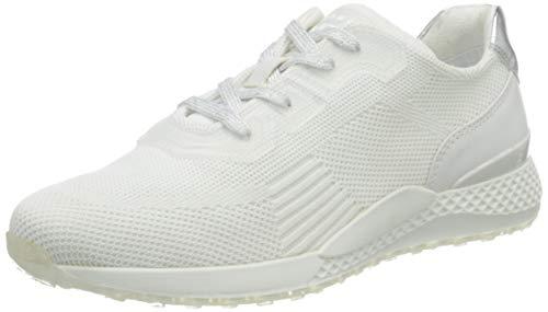 MARCO TOZZI 2-2-23722-26 Sneaker, Zapatillas Mujer, Color Blanco, 36 EU