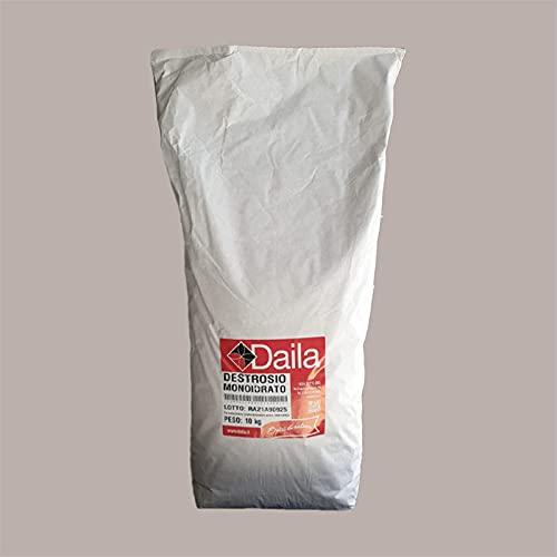 Lucgel Srl 10 kg Sacco di Destrosio Monoidrato | Zucchero per Gelato e Pasticceria Artigianale
