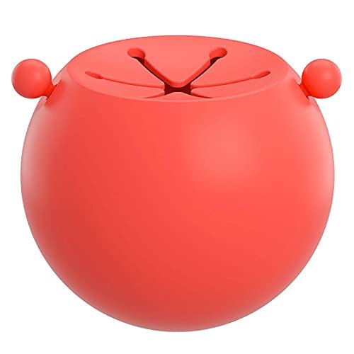 Vajilla Bebe, Vajilla Infantil Silicona Spherical Anti-Spill Leakproof, Cuenco Antivuelco Bebe Silicone Material Botes Comida Bebe Fun Cuenco Antivuelco