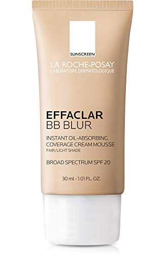 La Roche-Posay Effaclar BB Blur con SPF 20, 1.01 fl. oz., Fair/Light, 29.57ml (1 fl. oz.)