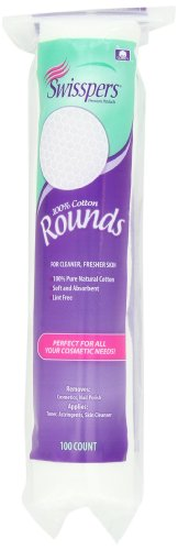 Swisspers Cotton Rounds, 100 Count
