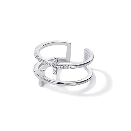 double cross ring - 7