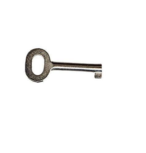 Schlüssel Metall 4mm für DIN Taster Druckknopfmelder Taster BMA Feueralarm RWA Hausalarm von MBS-FIRE®