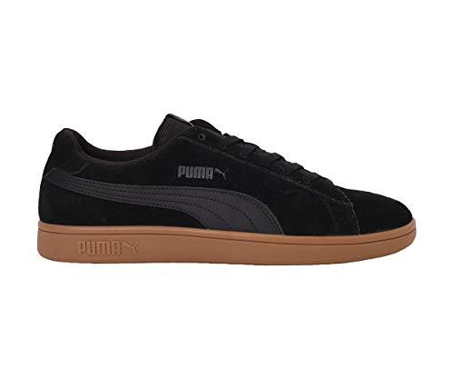 PUMA Smash v2, Zapatillas Unisex Adulto, Negro Black Black, 40 EU