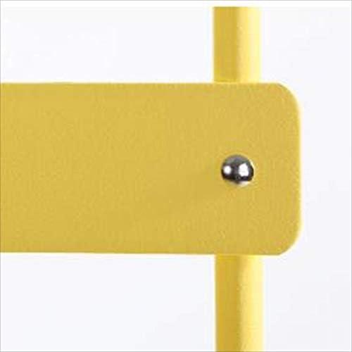 HUOQILIN Chaise Pliante Élégante Et Minimaliste en Fer Forgé Chaise Pliante Salle À Manger Chaise De Loisirs Balcon Européen (Color : Blue) Yellow