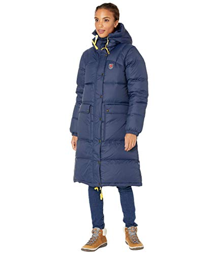 Fjällräven Expedition Long Down Parka W, Damen, Blau, S