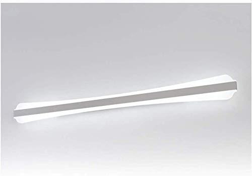 Spiegel schijnwerper, badkamer, moderne, persoonlijkheid, spiegellamp, kaptafel, spiegelkast, lamp, kunst, wandlamp, acryl, schijnwerper (kleur: warm licht, grootte: 100cm)