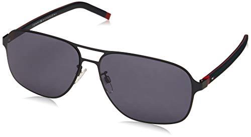 Tommy Hilfiger TH 1719/F/S gafas de sol, MTBLUERED, 62 para Hombre